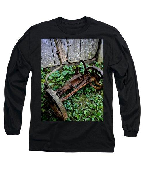 Retired Long Sleeve T-Shirt by Renate Nadi Wesley