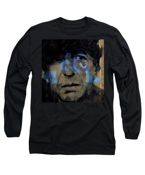 Retro- Famous Blue Raincoat  Long Sleeve T-Shirt