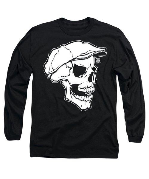 Retro Skull Long Sleeve T-Shirt
