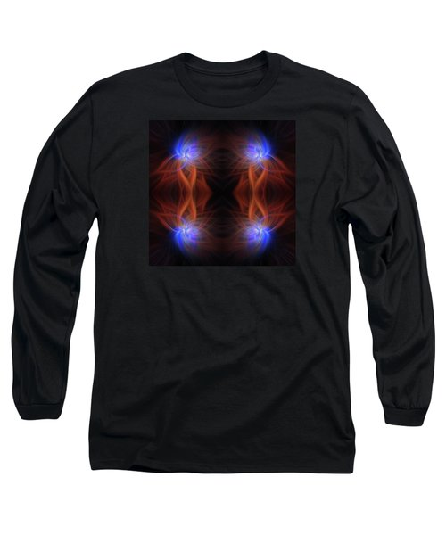 Long Sleeve T-Shirt featuring the photograph Revealed Light. Mystery Of Colors by Jenny Rainbow