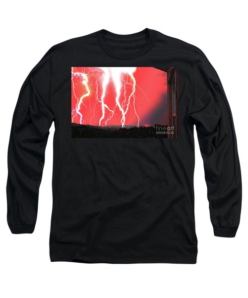 Lightning Apocalypse Long Sleeve T-Shirt