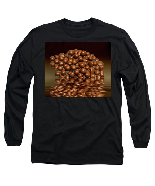 Long Sleeve T-Shirt featuring the photograph Revels Chocolate Sweets by David French
