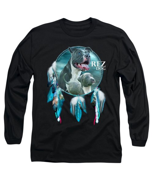 Rez Dog Cover Art Long Sleeve T-Shirt