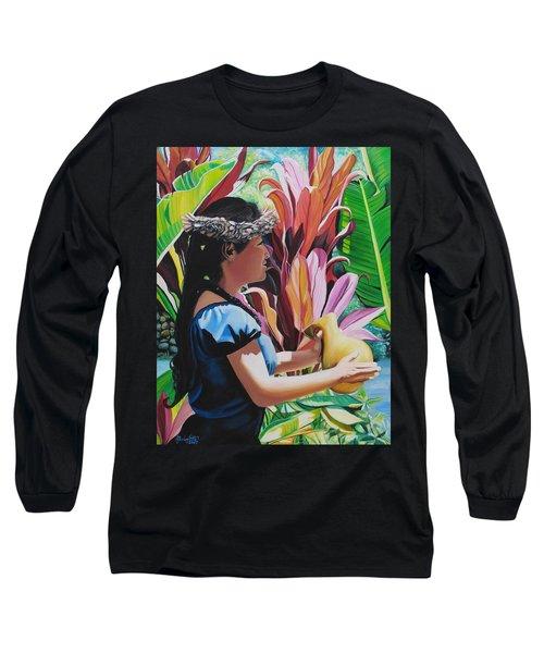 Rhythm Of The Hula Long Sleeve T-Shirt