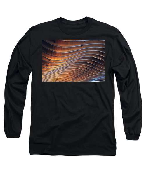 Ribbons Of Steel Long Sleeve T-Shirt