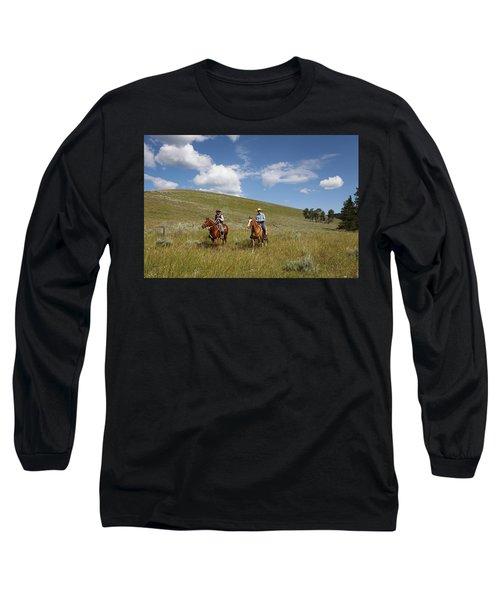 Riding Fences Long Sleeve T-Shirt