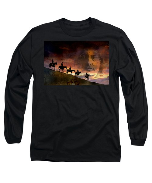 Riding Into Eternity Long Sleeve T-Shirt