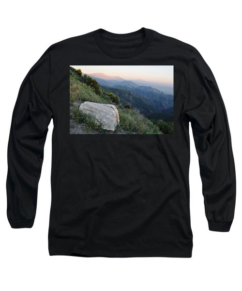 Long Sleeve T-Shirt featuring the photograph Rim O' The World National Scenic Byway by Kyle Hanson