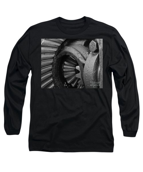 Ring And Pinion Bw Long Sleeve T-Shirt by Chalet Roome-Rigdon