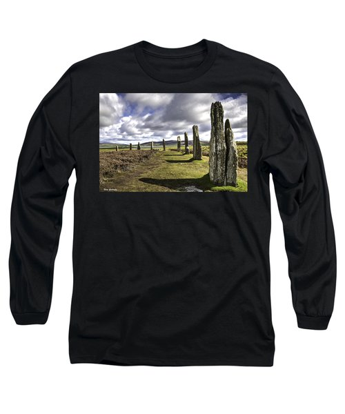 Ring Of Brodgar Long Sleeve T-Shirt