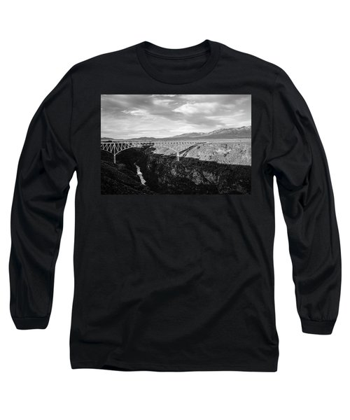 Long Sleeve T-Shirt featuring the photograph Rio Grande Gorge Birdge by Marilyn Hunt