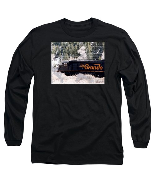 Rio Grande Train In Colorado Long Sleeve T-Shirt