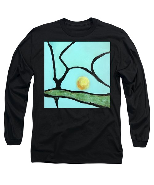 Long Sleeve T-Shirt featuring the painting Ripening IIi by Mary Sullivan