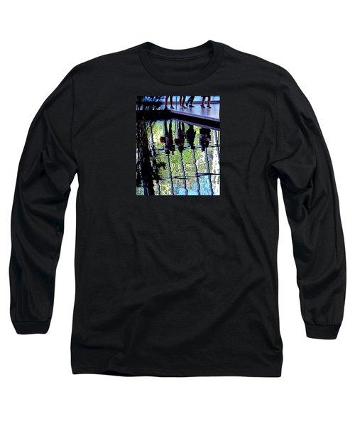 Ripples Long Sleeve T-Shirt by David Gilbert