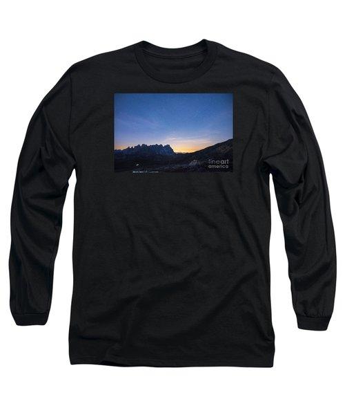 Rise Up Long Sleeve T-Shirt by Yuri Santin