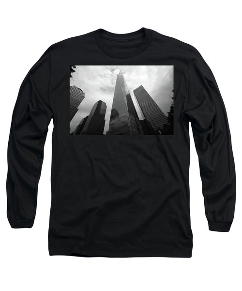Long Sleeve T-Shirt featuring the photograph Risen Out Of The Rubble by John Schneider