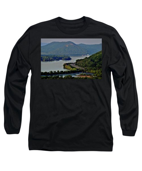 River Navigation Long Sleeve T-Shirt