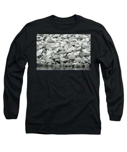 River Rocks No. 5-1 Long Sleeve T-Shirt