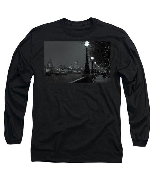 River Thames Embankment, London 2 Long Sleeve T-Shirt