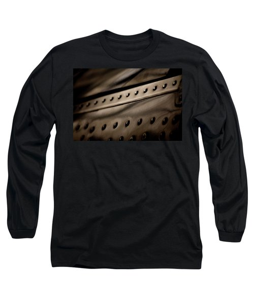Long Sleeve T-Shirt featuring the photograph Rivets by Paul Job