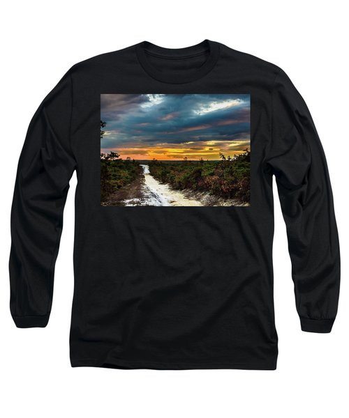 Road Into The Pinelands Long Sleeve T-Shirt