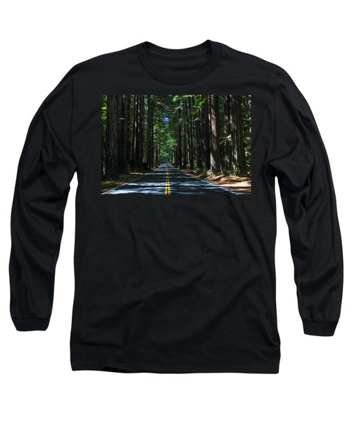 Road To Mendocino Long Sleeve T-Shirt