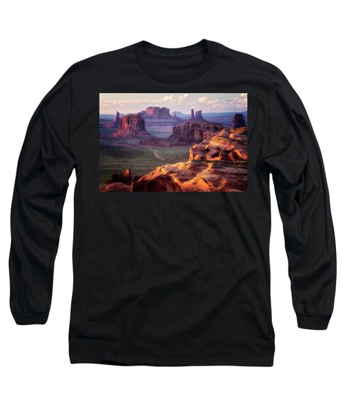 Road To Nowhere  Long Sleeve T-Shirt by Nicki Frates