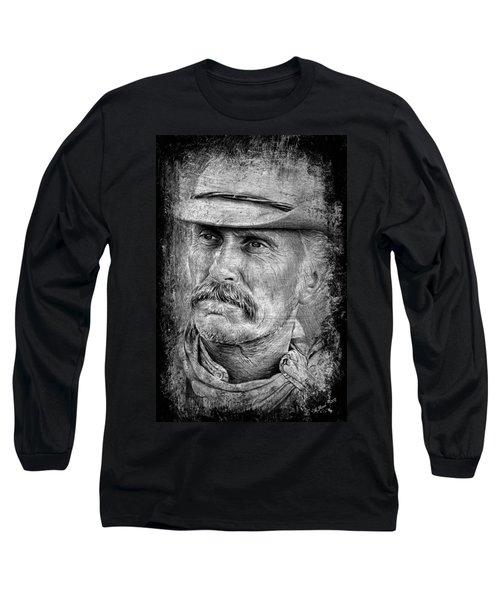 Robert Duvall As Gus Long Sleeve T-Shirt