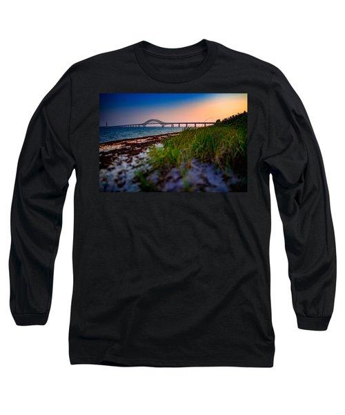 Robert Moses Causeway Long Sleeve T-Shirt