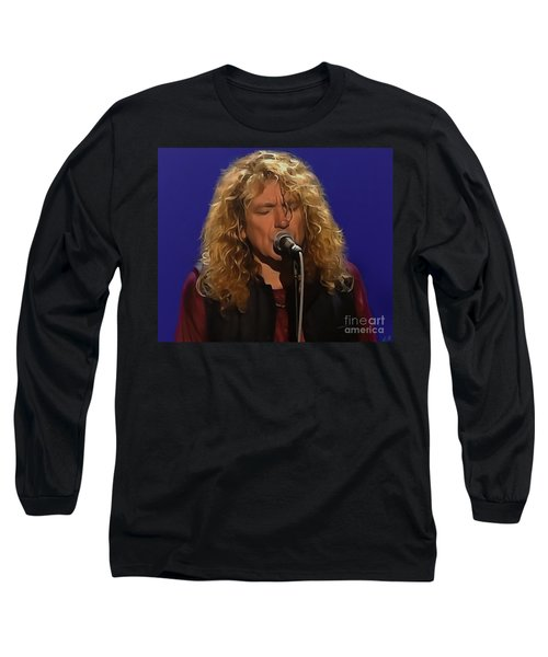 Robert Plant 001 Long Sleeve T-Shirt