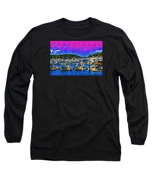 Roche Harbor 1 Long Sleeve T-Shirt by Kirt Tisdale
