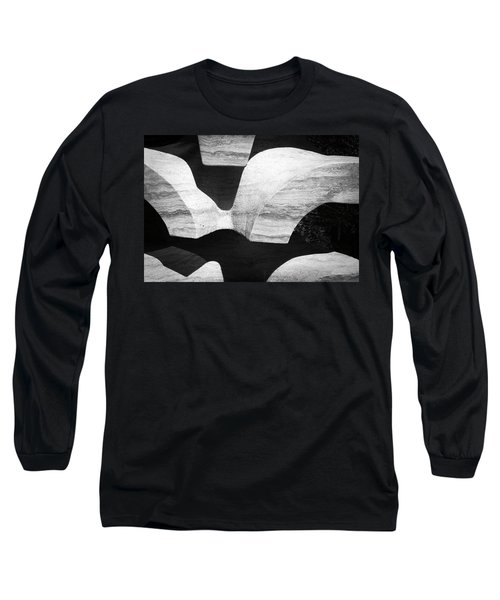 Rock And Shadow Long Sleeve T-Shirt