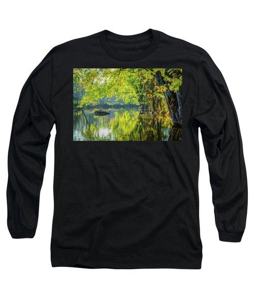 Rock At Sunrise Long Sleeve T-Shirt