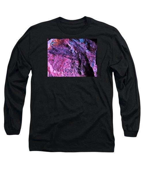 Rock Colors 1 Long Sleeve T-Shirt by M Diane Bonaparte