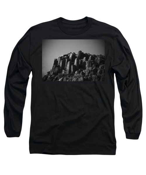 Monument To Glacier Long Sleeve T-Shirt by Yulia Kazansky