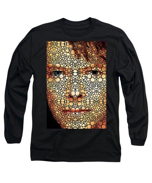Rock Legend - David Bowie Tribute Long Sleeve T-Shirt