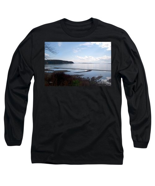 Rock Point North View Horizontal Long Sleeve T-Shirt by Felipe Adan Lerma