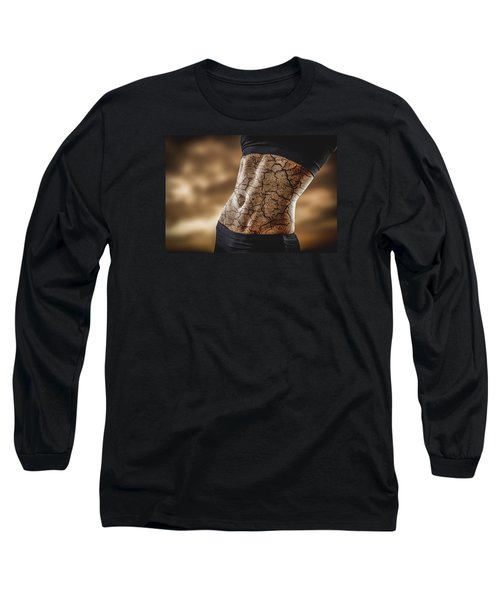 Rock Solid Abs Long Sleeve T-Shirt
