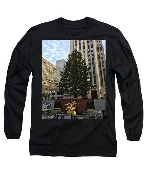 Rockefeller Center Christmas Tree Long Sleeve T-Shirt