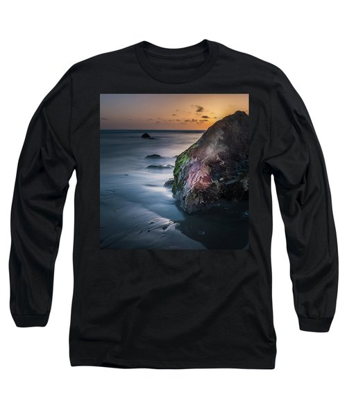 Rocks At Sunset Long Sleeve T-Shirt