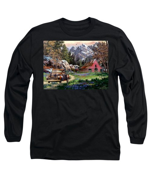 Rocky Mountain Ranch Long Sleeve T-Shirt