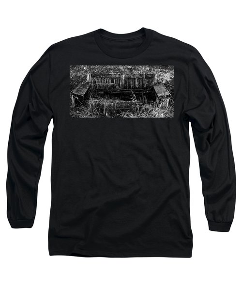 Death Of A Sofa Long Sleeve T-Shirt