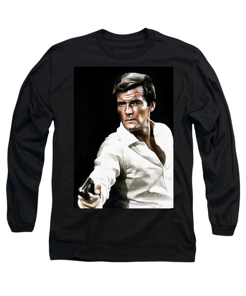 Roger Moore Long Sleeve T-Shirt