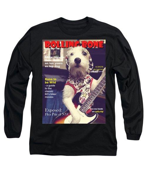 Rolling Bone Magazine Long Sleeve T-Shirt
