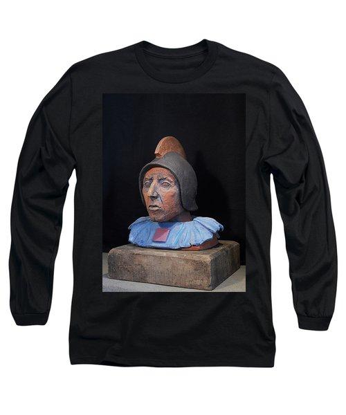 Roman Warrior Roemer - Roemer Nettersheim Eifel - Military Of Ancient Rome - Bust - Romeinen Long Sleeve T-Shirt