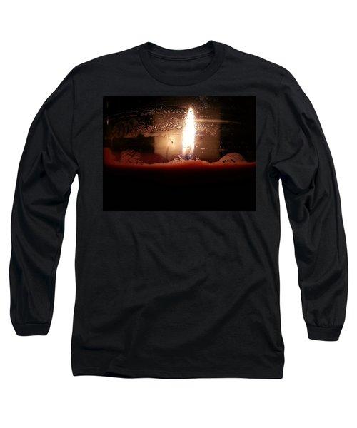 Romantic Candle Long Sleeve T-Shirt
