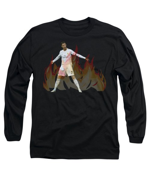Ronaldo Long Sleeve T-Shirt by Vincenzo Basile