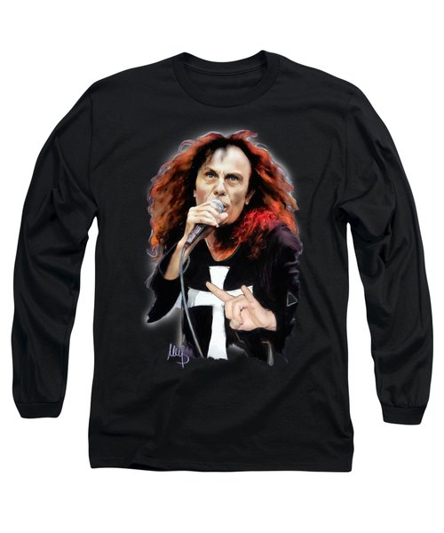 Ronnie James Dio Long Sleeve T-Shirt