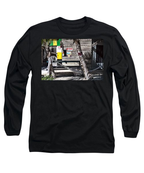 Long Sleeve T-Shirt featuring the photograph Rooms Available by Lawrence Burry