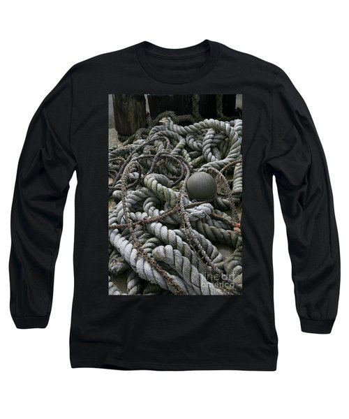 Ropes And Lines Long Sleeve T-Shirt